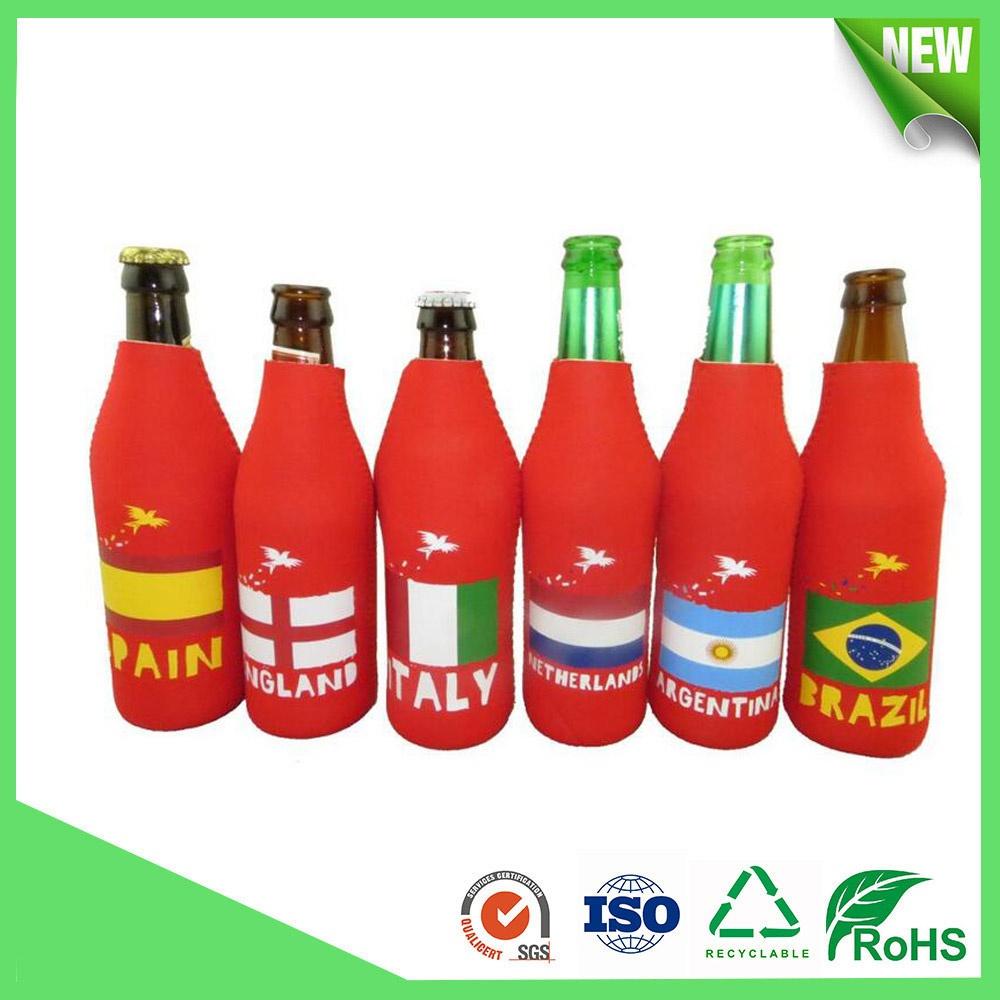 Neoprene Beer Bottle Tube Cooler